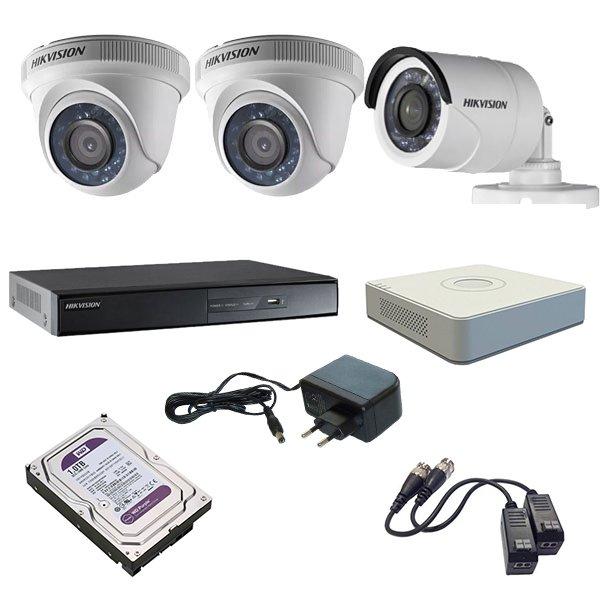 Hikvision kamerarendszer részei